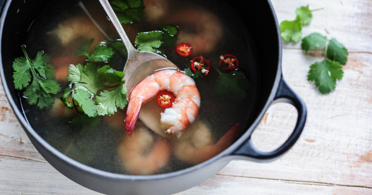 Best Soup For A Cold: Quick Hot & Sour Thai Soup