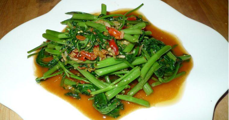 Stir-Fried Morning Glory Thai Style