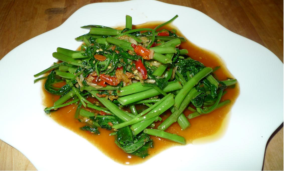 Stir fried morning glory thai style forumfinder Choice Image