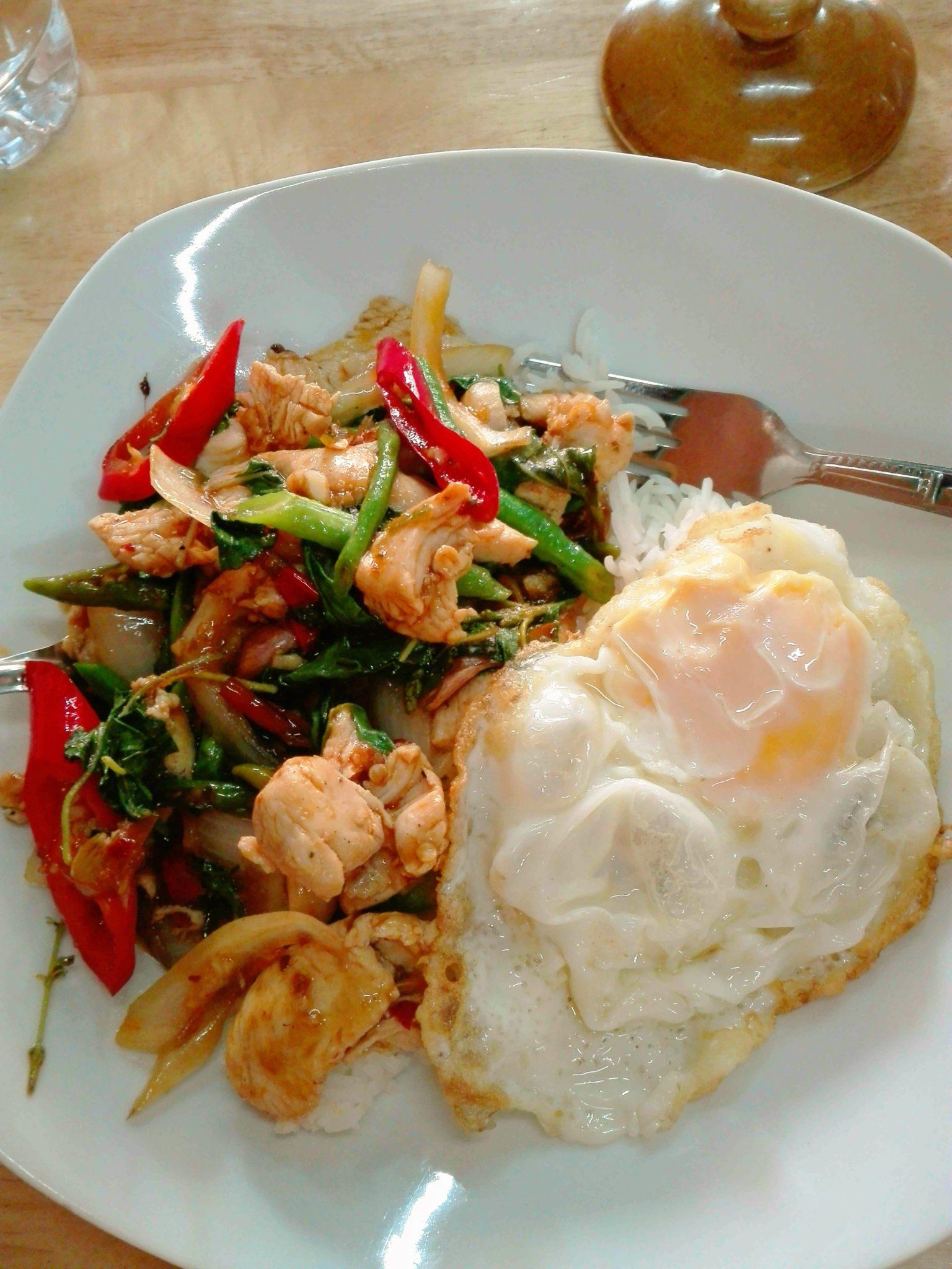 Pad krapow recipe thai stir fry basil forumfinder Image collections
