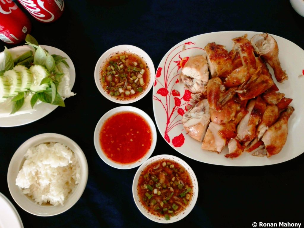 grilled chicken sp chicken chiang mai