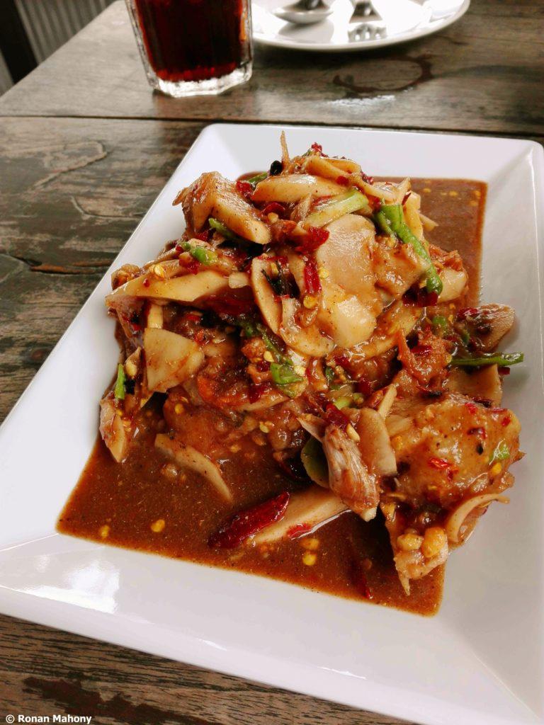 tam kratawn isaan food chiang mai